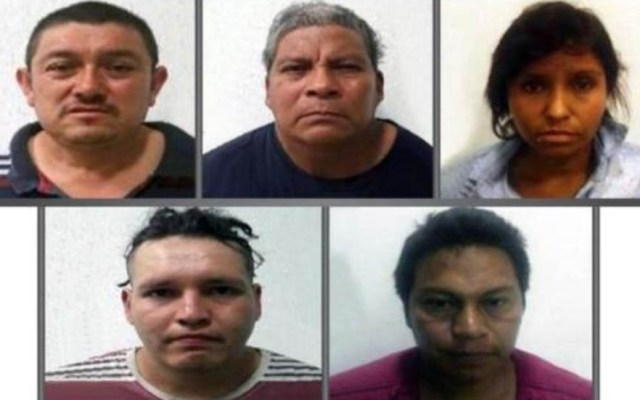 Condenan a 60 años de cárcel a cinco secuestradores en el Edomex - Secuestradores condenados a 60 años de cárcel en el Edomex. Foto de FGJEM
