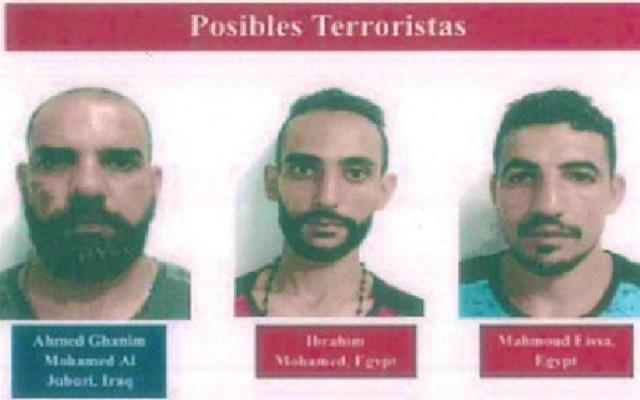Alerta no significa que terroristas quieran entrar a México: Durazo - Presuntos terroristas ligados al Estado Islámico. Foto Especial