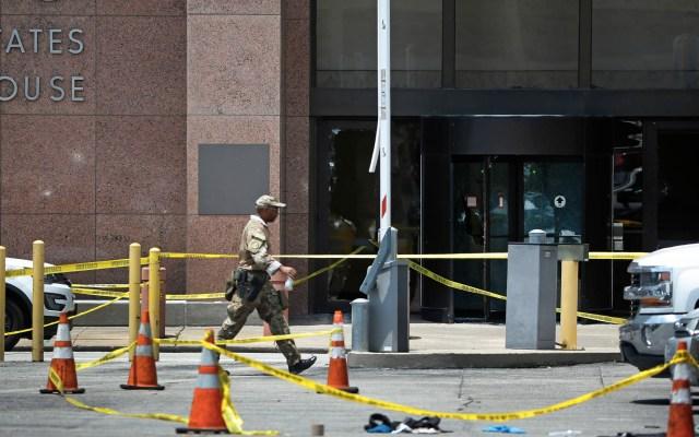 Periodista relata su experiencia durante el tiroteo de Dallas - Foto de Ron Jenkins / GETTY IMAGES NORTH AMERICA / AFP