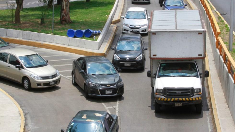 Sheinbaum anuncia restricciones a transporte de carga en la Ciudad de México - transporte de carga tenencia Tránsito tráfico Ciudad de México autos automóviles