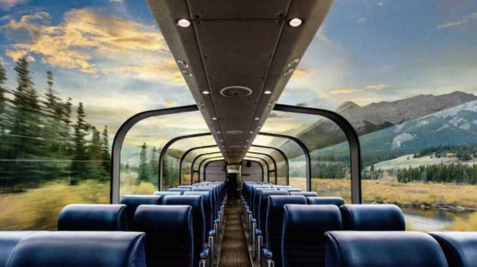 Los viajes en tren más sorprendentes - Foto: rockymountaineer.com