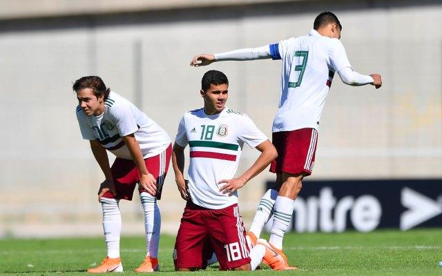México cae en semifinales del Torneo Maurice Revello - Tri