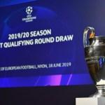 Así se jugará la primera ronda clasificatoria de Champions League