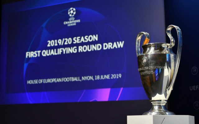 Así se jugará la primera ronda clasificatoria de Champions League - Foto de UEFA Champions League