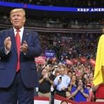 Donald Trump lanza campaña para la reelección desde Orlando, Florida - Foto de AFP