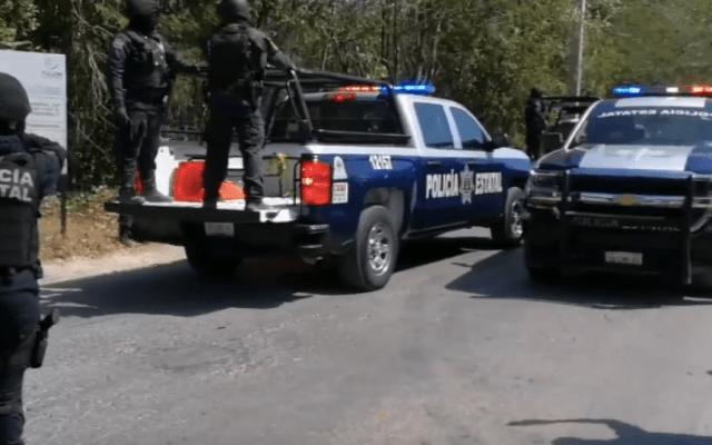 Detienen a dos con arsenal en Tulum - Foto de Quadratín