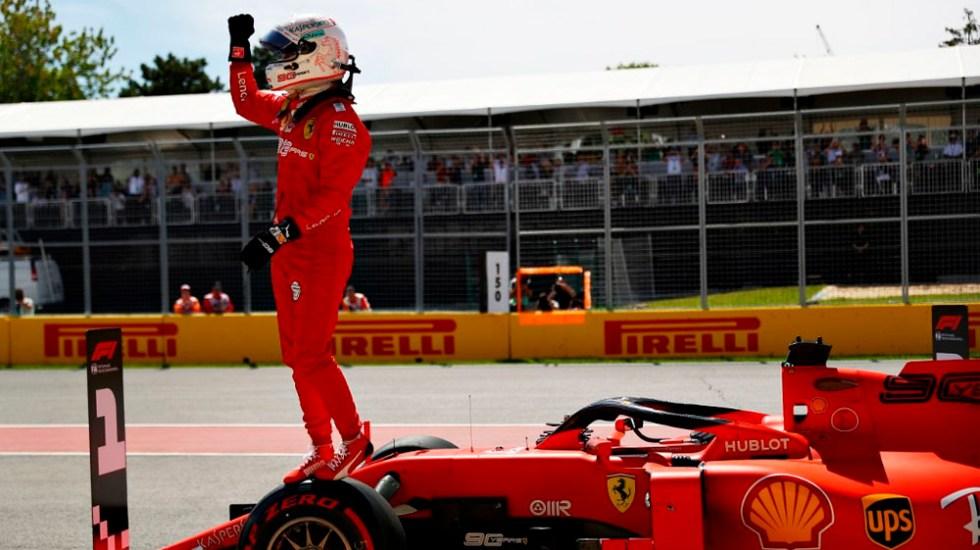 Vettel logra la pole por delante de Hamilton en GP de Canadá - vettel pole canada