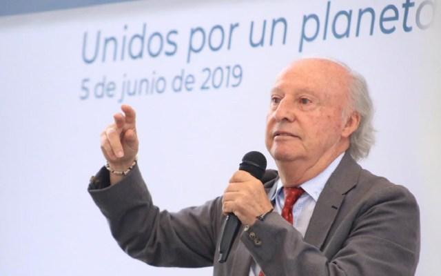 Semarnat presenta lineamientos de la política ambiental de la 4T - Víctor Toledo, nuevo secretario de Medio Ambiente. Foto de Semarnat