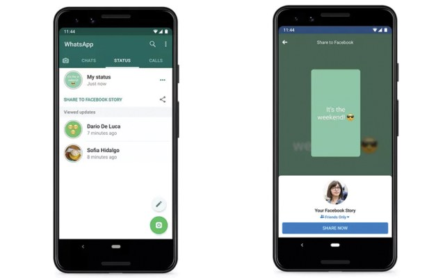 WhatsApp permitirá compartir estados en otras redes sociales - Foto de WhatsApp