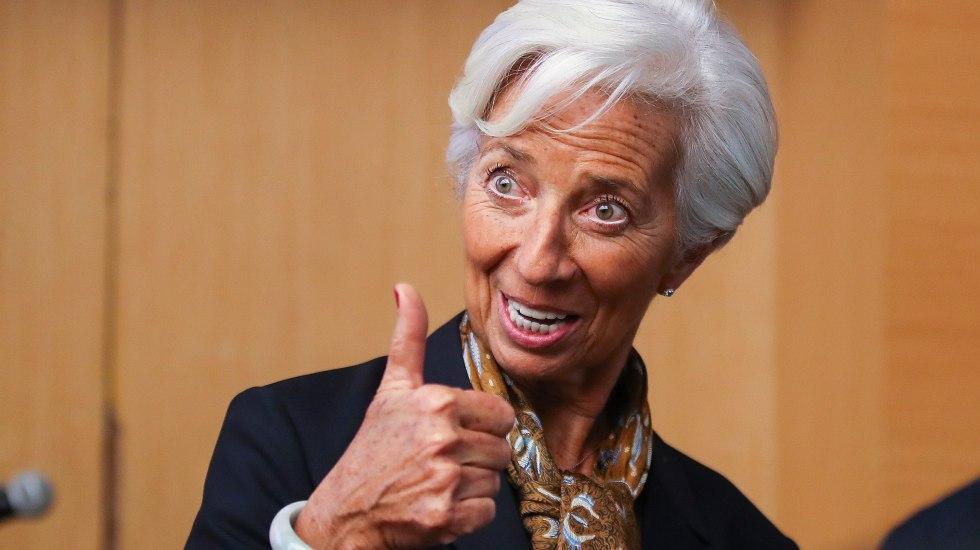 """Lagarde anuncia su """"renuncia temporal"""" a la dirección del FMI - Foto de EFE."""