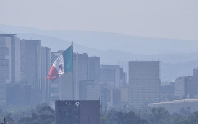 Valle de México amanece con calidad del aire regular - Foto de Notimex/Isaías Hernández