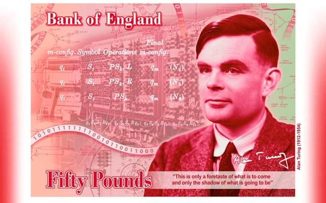 El científico Alan Turing aparecerá en billete de 50 libras - alan turing