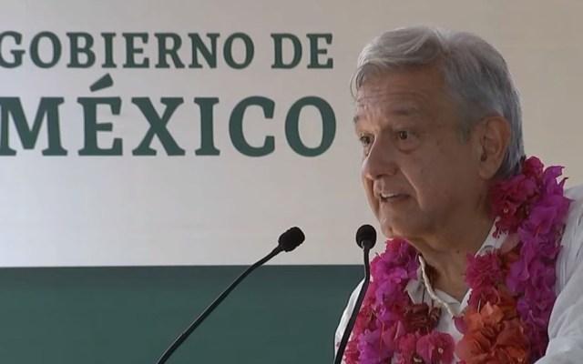 Inseguridad no se resolverá si aumenta consumo de droga: AMLO - AMLO en Chicontepec, Veracruz. Captura de pantalla