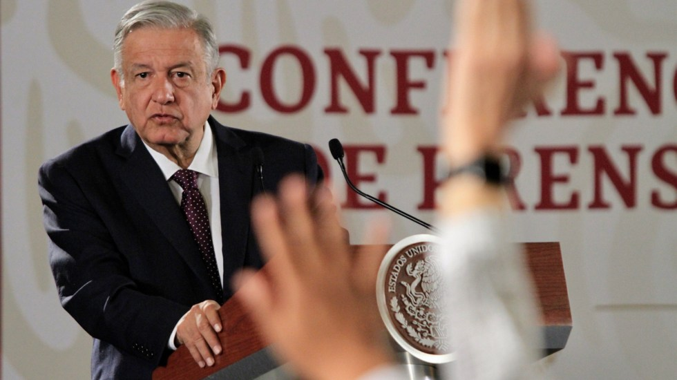 Conferencia de AMLO (22-07-2019) - Andrés Manuel López Obrador. Foto de Notimex- Javier Lira.