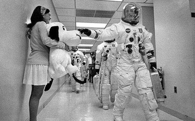 Snoopy estuvo en la Luna antes que Armstrong
