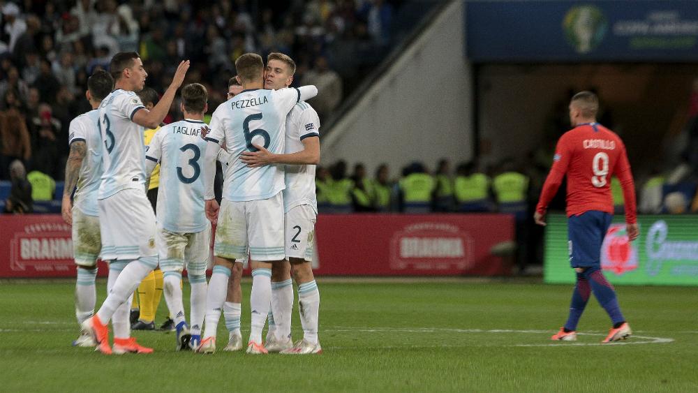 Argentina conquista el tercer lugar de la Copa América 2019 - Foto de Mexsport