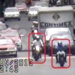 #Video Así detuvieron a tres asaltantes en moto en la CDMX