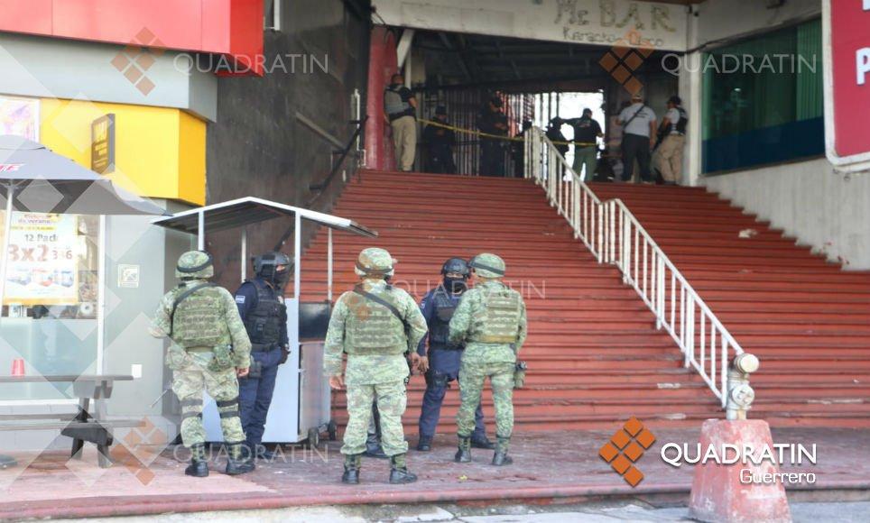 Cinco muertos y seis heridos deja ataque armado en bar de Acapulco