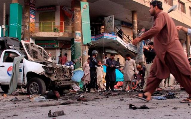 Al menos cinco muertos y 35 heridos tras atentado en Pakistán - atentado pakistán