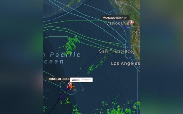 Avión de Air Canada sufre turbulencia súbita y aterriza de emergencia en Hawaii - air canada