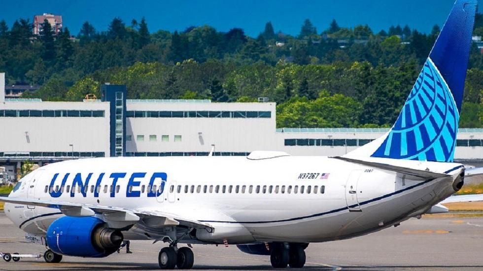 Aerolínea coloca en vuelo equivocado a adolescente de 14 años - Avión de United Airlines. Foto de @dmairplane