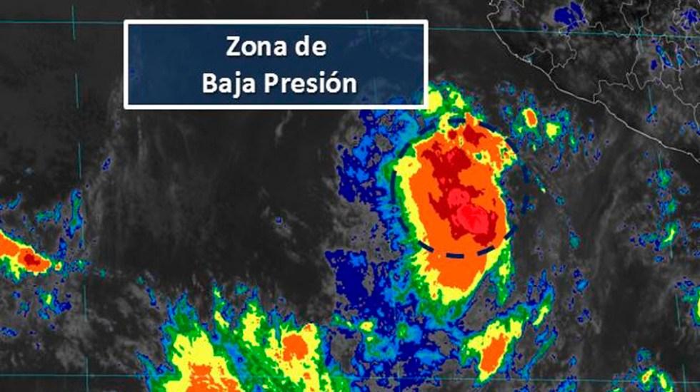 Zona de baja presión tiene alta probabilidad de convertirse en ciclón - baja presión desarrollo ciclónico