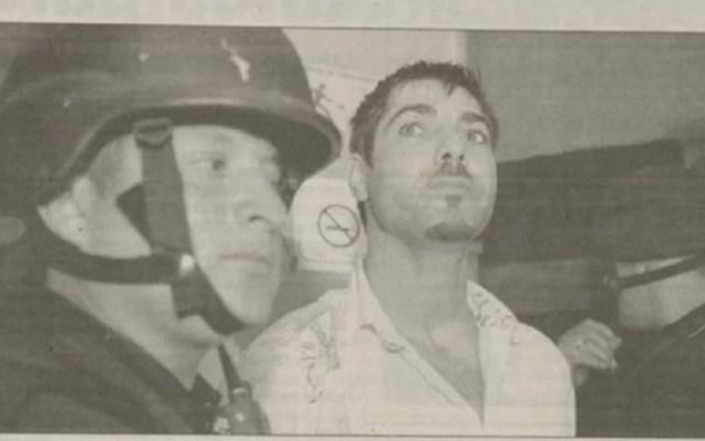 Ben Sutchi era criminal con instrucción del Mossad - Ben Sutchi detenido en junio de 2005 en la CDMX. Foto de El Universal
