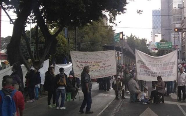 Caos vial por bloqueo de casi dos horas en Insurgentes Sur - Foto de Ovial