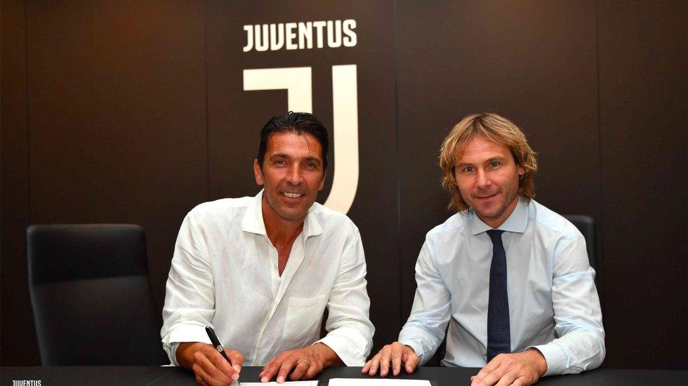 Buffon firma con la Juventus hasta 2020 - Buffon Juventus