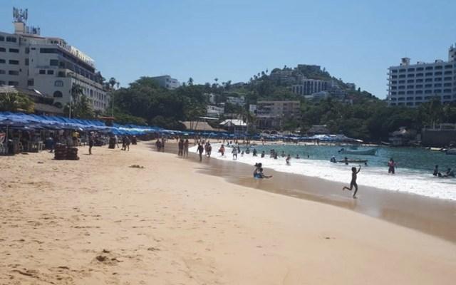 Declaran no aptas para el turismo cinco playas de Acapulco - Caleta y Caletilla Acapulco Guerrero