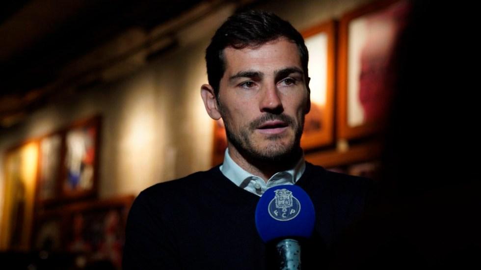 Casillas será parte del staff directivo del Porto tras infarto - casillas porto