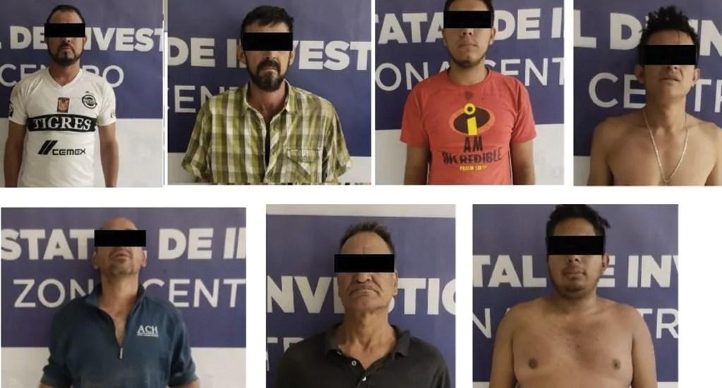Capturan en Chihuahua a siete presuntos integrantes de un grupo criminal - Foto de Coordinación de Comunicación Social de Gobierno del Estado de Chihuahua
