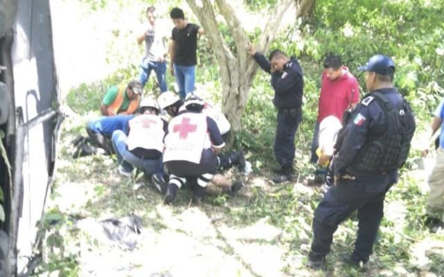 Accidente carretero en Veracruz deja 11 lesionados - Foto de Quadratín