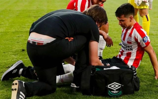 'Chucky' Lozano tuvo molestias físicas en amistoso con el PSV - Foto de PSV