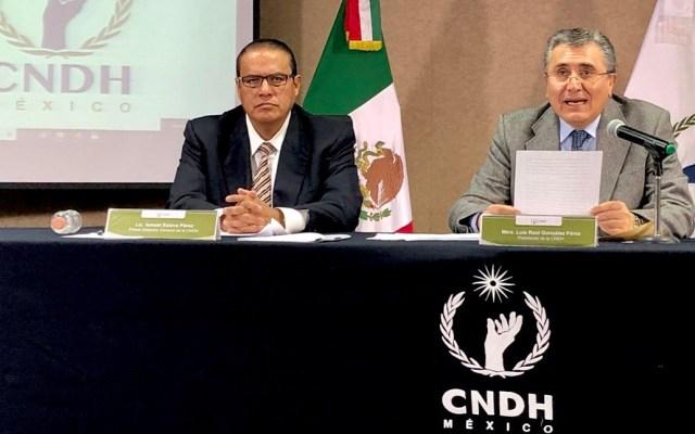 CNDH recurrirá al Senado para que el Gobierno acepte recomendación sobre estancias infantiles - Conferencia de prensa de la CNDH sobre estancias infantiles. Foto de @CNDH