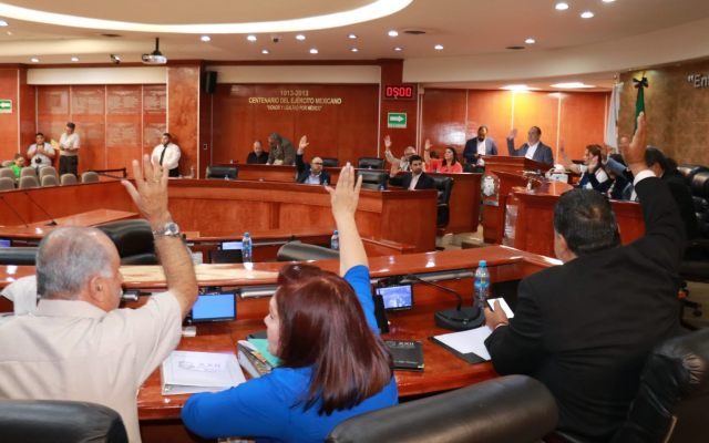 Ampliación del mandato en BC viola Estado de Derecho: Pamela San Martín - El Congreso de Baja California. Foto de Facebooook.com/Congreso.BajaCalifornia