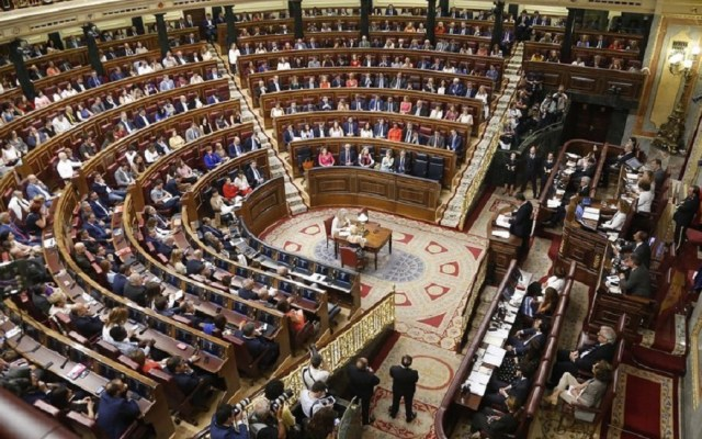 Prevén nuevas elecciones tras fracaso de investidura de Pedro Sánchez - Congreso de España. Foto de @congreso_diputados