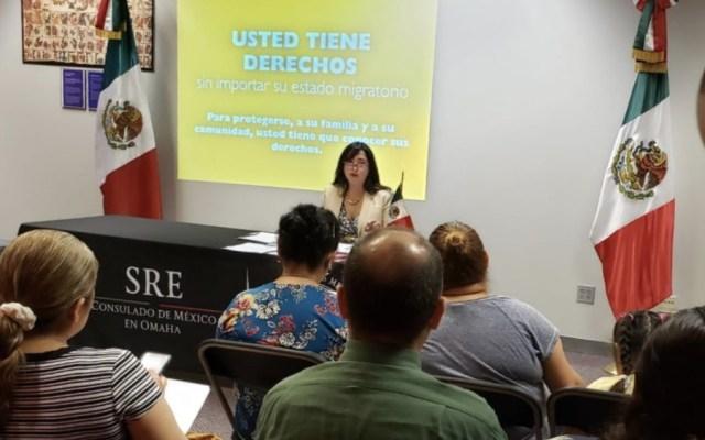SRE se declara lista para proteger derechos de mexicanos en EE.UU. - Foto de @ConsulmexOmaha