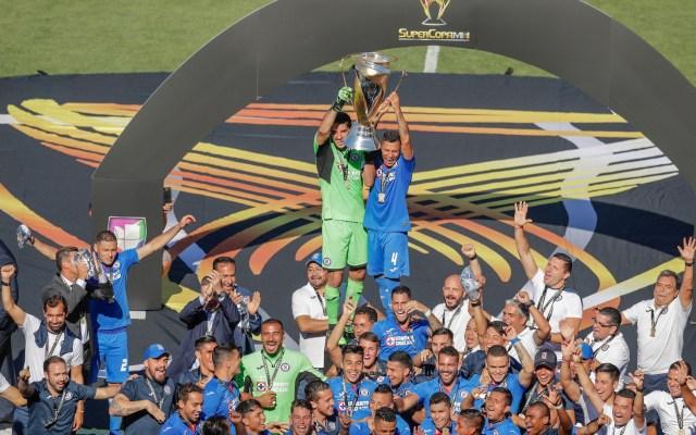 Cruz Azul campeón de la Supercopa MX - Foto d Mexsport.