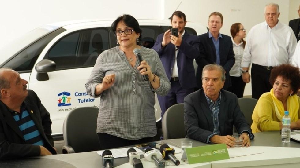 Ministra de Brasil asegura que violan a las niñas pobres porque no tienen ropa interior - Foto de Gobierno de Brasil