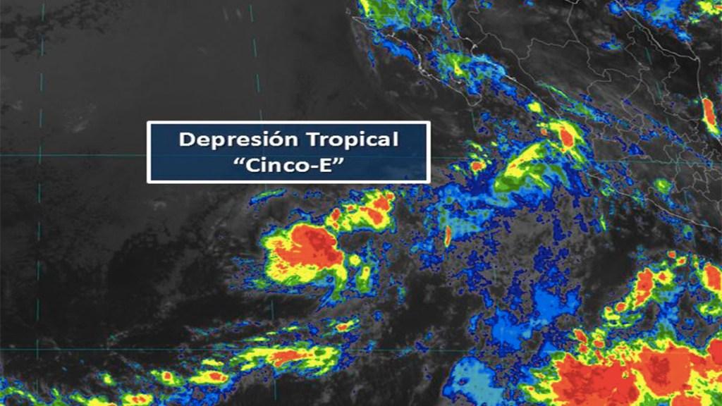 Se forma la depresión tropical Cinco-E en el Pacífico. Noticias en tiempo real
