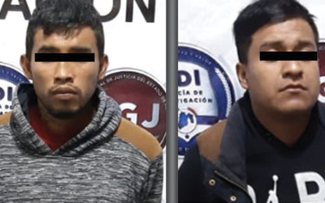 Capturan a presuntos responsables de asaltos en Tecámac - Foto de Fiscalía Estado de México