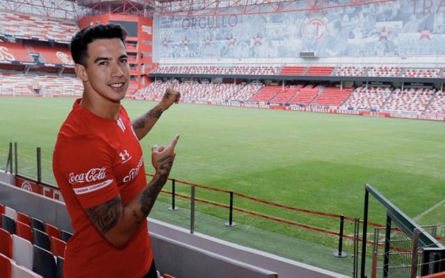 Diego Rigonato ya es nuevo jugador del Toluca - Foto de @TolucaFC
