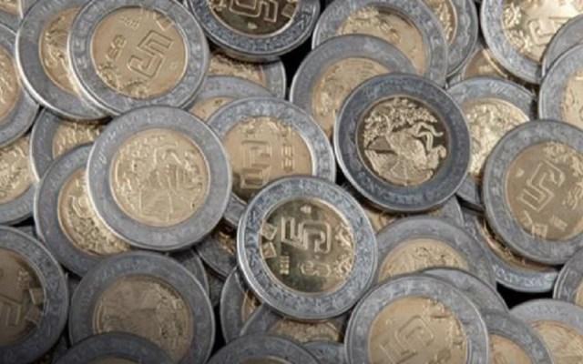 Sector empresarial celebra aumento al salario mínimo - Monedas mexicanas. Foto de @DivulgacionBanxico