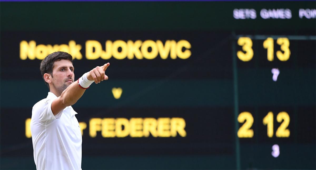 Djokovic continúa en el primer puesto del ranking de la ATP- Djokovic