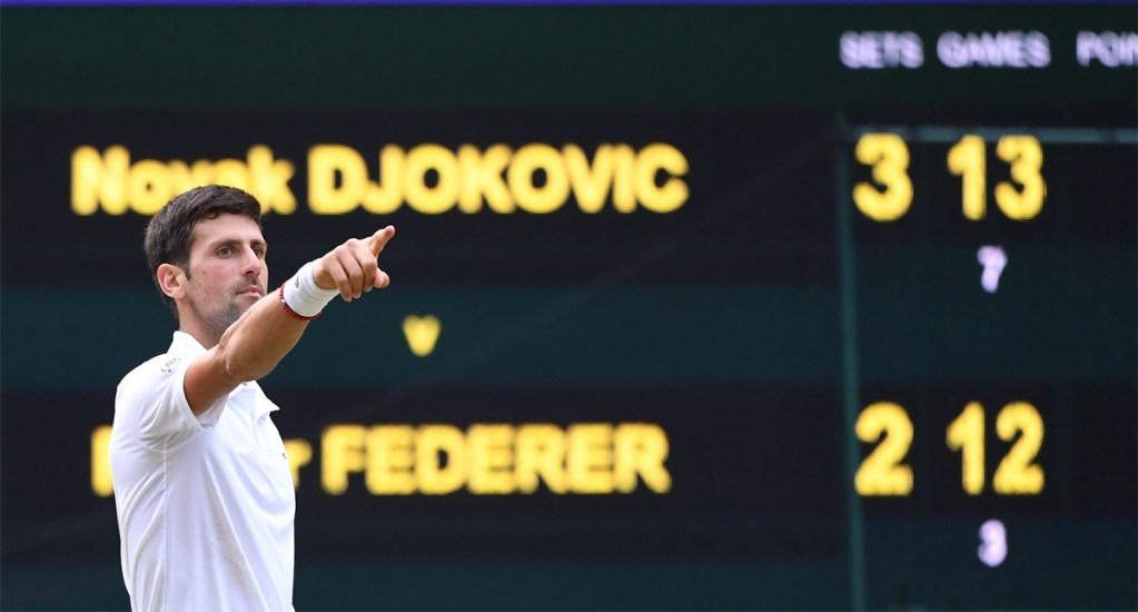 Djokovic continúa en el primer puesto del ranking de la ATP - Djokovic