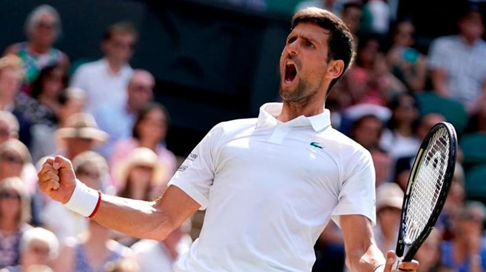 Djokovic disputará su sexta final de Wimbledon - Djokovic