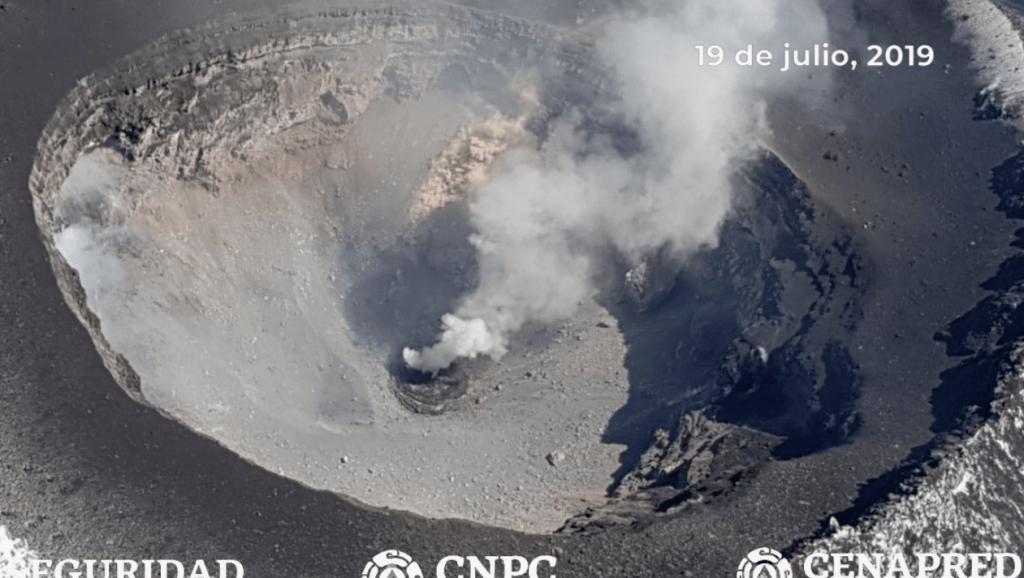 #Video Identifican formación de nuevo domo en el volcán Popocatépetl. Noticias en tiempo real