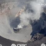 #Video Identifican formación de nuevo domo en el volcán Popocatépetl