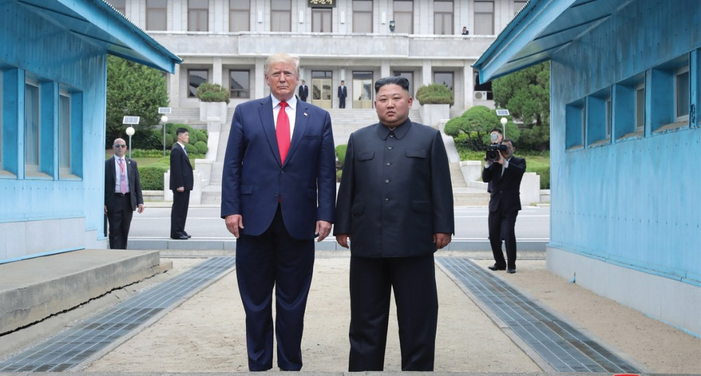 Maniobras de EE.UU. con Seúl afectarían diálogo: Corea del Norte - donald trump t kim jong-un
